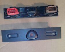 Boutons Warning feu detresse dégivrage fermeture des portes Clio 2 phase 2 01/05