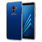 For Galaxy A8 A8 Plus   Spigen®[Liquid Crystal] Clear Protective Case Cover