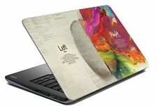 "Quotes Laptop Skin Notebook Skin Sticker Cover Art Decal Fits 14.1"" to 15.6""w1"