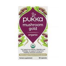 💚 Pukka Herbs Organic Mushroom Gold 60capsules