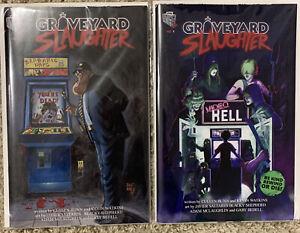 Graveyard Slaughter #1 Kickstarter Set By Cullen Bunn Lunchbox Press 2019