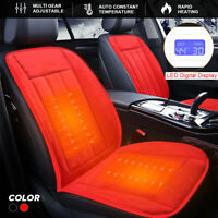 Car Heating Cushion Warmer Seat Mat Home Chiar Heater Pad Temperature Adjusted