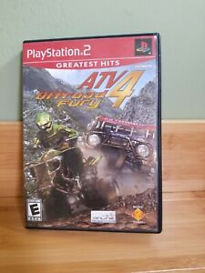 Atv Off-road Fury 4 PS2 Playstation 2 Complete W Manual Free Shipping