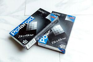 Polaroid 665 P/N Instant Black and White pack film 3.25x4.25 NOS
