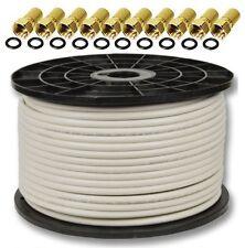 100m 130db Sat Koaxialkabel Koax Kabel Antennenkabel DIGITAL FullHD 3D 120db 135