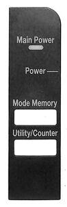 Konica Minolta A02E948700 Panel Sheet for bizhub 361 421 501 601 C203 C451 C650