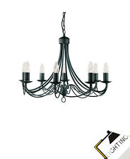 Pendule Pendentif Lampe Suspension de Lampe Lampe Suspendue Lampe Noir / Mat Led