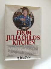 From Julia Child's Kitchen (1975, Hardcover) SIGNED by Julia Child!!