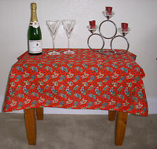 100% Cotton Christmas Table Tablecloths