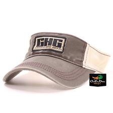 AVERY OUTDOORS GREENHEAD GEAR GHG LOGO VISOR HAT CAP SLATE & STONE