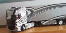WSI R6 Scania Topline 4X2 reefertrialer portador escala 1.50