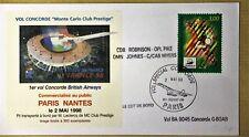 VOL CONCORDE  ¨¨ MONTE CARLO CLUB PRESTIGE¨¨ PARIS -NANTES 02 mai 1998