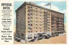 IMPERIAL HOTEL Portland, Oregon 1929 Vintage Postcard