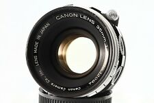 """RARE"" Canon 35mm F/1.5 Leica Screw Mount LTM 39 Lens.""MINT-"" From Japan#1209"