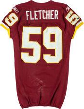 Washington Redskins London Fletcher Game Worn/Used Jersey Photomatched 12-12-10!