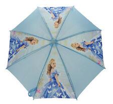 Paraguas de niña azul