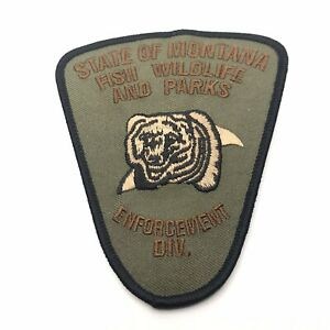 State Of Montana Fish Wildlife & Parks Enforcement Div. DNR Subdued Game Warden