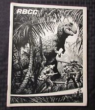 1976 Rocket's Blast ComiCollector RBCC #131 FANZINE FN Ray Bradbury