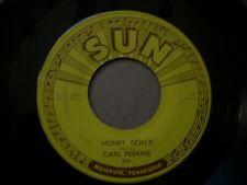 ROCKABILLY   CARL PERKINS  honey dont   SUN 234   CLEAN!!!!!!!!!