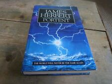 Portent by James Herbert (Hardback, 1992) FIRST EDITION SIGNED