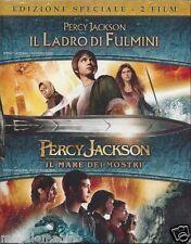 2 Blu-ray Box «PERCY JACKSON ♦ IL LADRO DI FULMINI + IL MARE DEI MOSTRI» nuovo