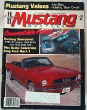 MUSTANG MONTHLY 1985 APR - 5.0L v BOSS 302 v K-CODE*
