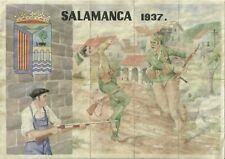 2583 Salamanca Uncut Ration Coupons Spanish Civil War Racionamiento