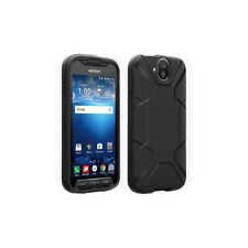 Verizon Matte Silicone Case w/ Sapphire Shield for Kyocera DuraForce PRO - Black