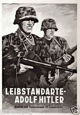 German WW2 Leibstandarte AH Waffen SS Large Poster
