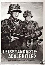 German WW2 Leibstandarte AH Waffen SS Poster