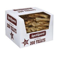 "45 6"" Pressed Ranch Rewards Rawhide Dog Bones Treats Chews Compressed Beefhide"