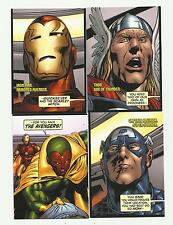2011 MARVEL AVENGERS KREE-SKRULL WAR 90 CARD BASE SET!!