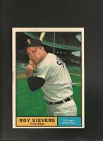 1961 Topps # 470 Roy Sievers NM