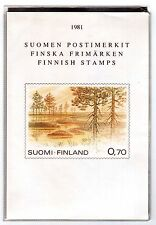 FINLAND 1981 PO pack issues MUH