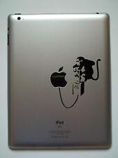 1 x Banksy Scimmia far detonare-Decalcomania Adesivo Vinile per Ipad MAC AIR PRO
