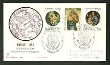 ITALIA BUSTA CAPITOLIUM 1983 RAFFAELLO SANZIO ANNULLO SPECIALE URBINO  FDC
