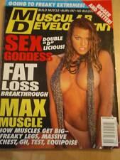 MUSCULAR DEVELOPMENT bodybuilding muscle magazine/DANA HAMM 9-02
