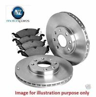 FOR NISSAN X-TRAIL 2.0 2.5 2007-4/2010 FRONT Brake Discs + Disc Pad Set