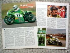 Yvon DUHAMEL MOTORCYCLE RACING Article/Photo's/Pictures