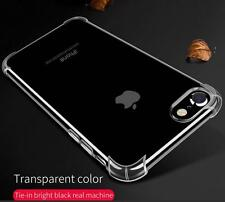 Shock Proof Crystal Soft Transparent Back Case Cover for Apple iPhone 7 4.7""