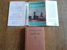 Observer's Book of Furniture (series no. 35), illustrated 1966 edition with dj