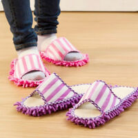 Home Unisex Slipper Microfiber Cleaning Mop Machine Washable For Floor Sweeper