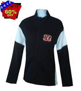 Nfl Mens Apparel * Cincinnati Bengals Mens Nfl Team Full Zip Jacket ,nwt, 2XL