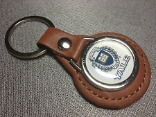 YALE UNIVERSITY Leather Key Rings, in black or tan