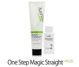 NEW Aaron OneStep Magic Streight Plus 150 ml DIY HairStyling With Argan HairCare