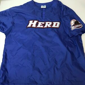 Buffalo Bisons Team Issued Warmup Jacket Large MiLB HERD Rare