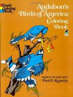 Audubons Birds of America Coloring Book by John James Audubon, Coloring Books