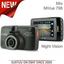 Mio MiVue 798 Wi-Fi GPS Car Dash Camera│2.5K QHD 1600p Video Recording│G-Sensor