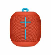 Ultimate Ears WONDERBOOM Wireless Portable Speaker - Fireball Red