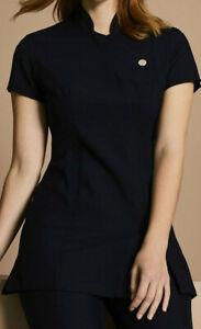Ladies Salon Tunic massage One Button Tunic Uniform Beauty Spa Beautician